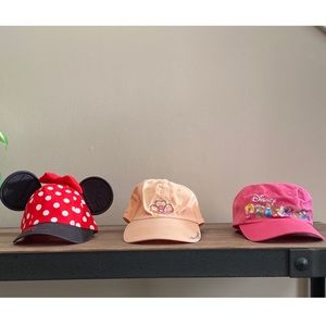 🧢 lot of 3 girl's hats 🧢